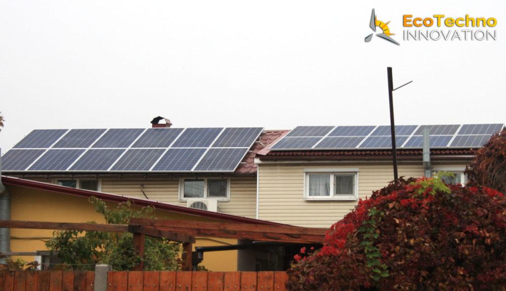 Cолнечная электростанция на крыше 10 кВт