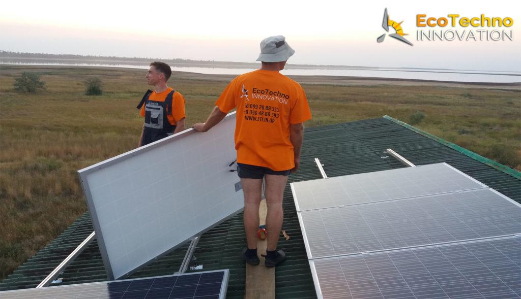 Cолнечная станция под ключ 5 кВт в Запорожской области