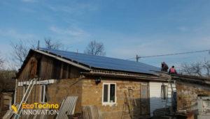 12,5 кВт Днепропетровск под Зеленый тариф - март 2019