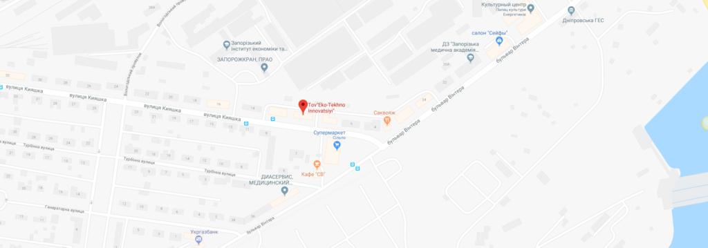 Компания ЭкоТехно Инновации на карте